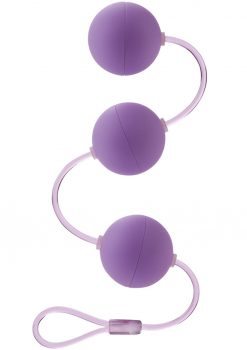 First Time Love Balls Triple Lover Perfectly Weighted For The Beginner Purple