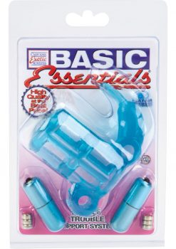 Basic Essentials Double Trouble Support System Waterproof Blue