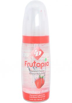 Frutopia Flavored Lubricant Strawberry 3.4 Ounce