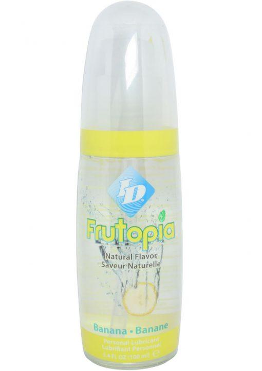 Frutopia Flavored Lubricant Banana 3.4 Ounce