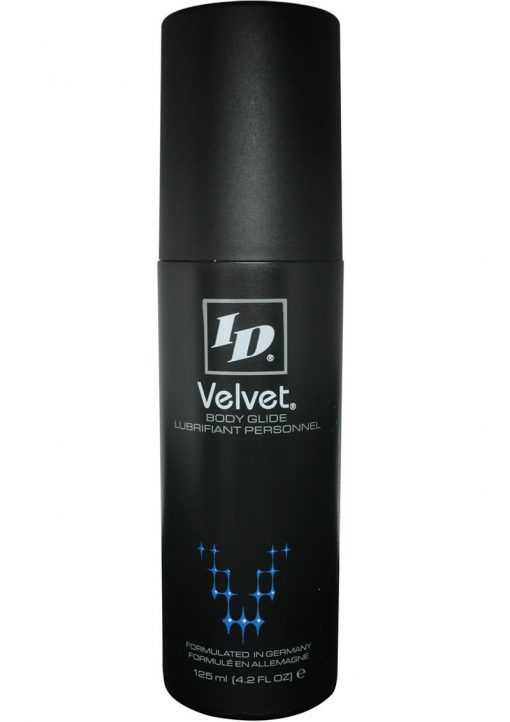 Id Velvet Silicone Lubricant Waterproof 4.2 Ounce