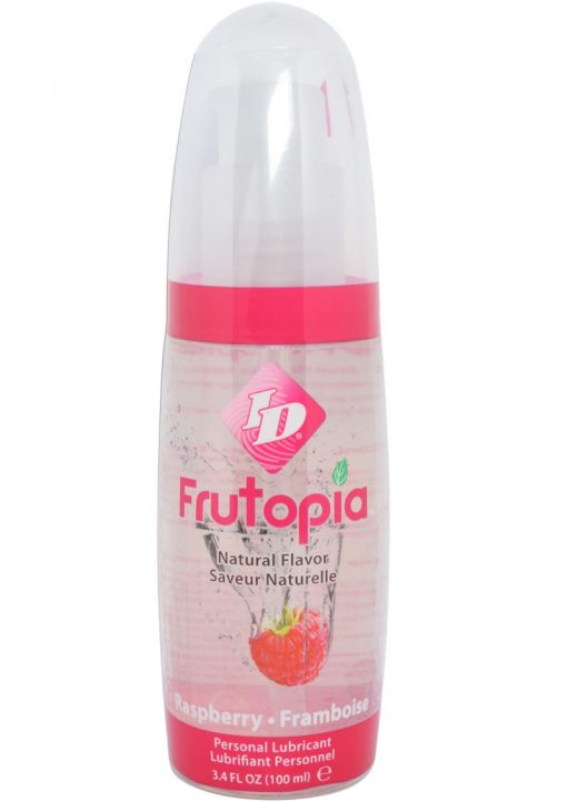 Frutopia Flavored Lubricant Raspberry 3.4 Ounce