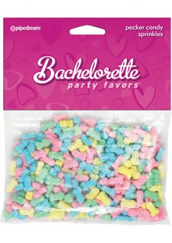 Bachelorette Party Favors Pecker Candy Sprinkles