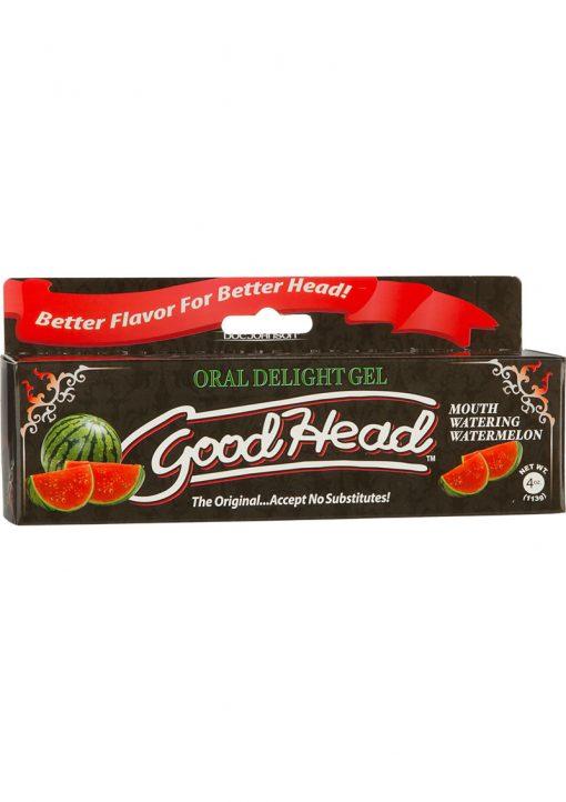 Goodhead Oral Delight Gel Watermelon 4 Ounce