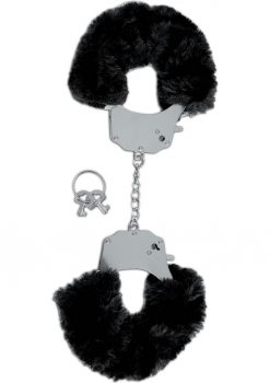 Fetish Fantasy Series Limited Edition Furry Cuffs Black