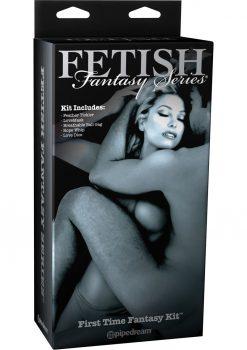 Fetish Fantasy Series Limited Edition First Time Fantasy Kit Black