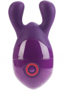 Body And Soul Elation Silicone Body Massager Waterproof Purple