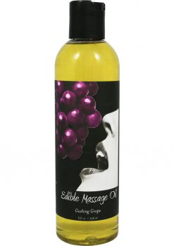 Edible Massage Oil Gushing Grape 8 Ounce