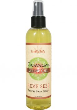 Glow Oil With Hemp Seed Guavalava 8 Ounce Spray
