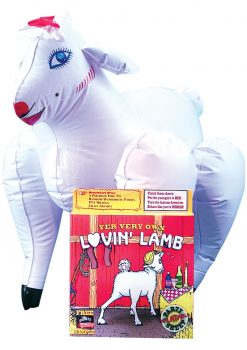 Lovin Lamb Yer Very Own Inflatable Party Sheep