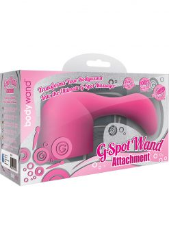 Bodywand G Spot Wand Attachment Silicone Pink