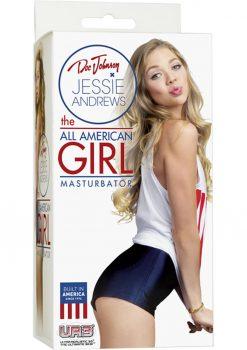 Jessie Andrew All American Girl Masturbator Flesh 5.1 Inch