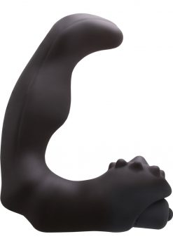 Renegade Silicone Vibrating Massager II Waterproof Black