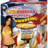 Real Skin Latin American Whoppers Vibrating Dong With Harness 8 Inch