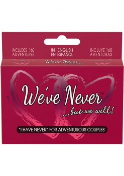 We`ve Never ...But We Will Couples Card Game