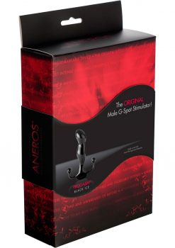 Progasm Black Ice Male G-Spot Stimulator Black