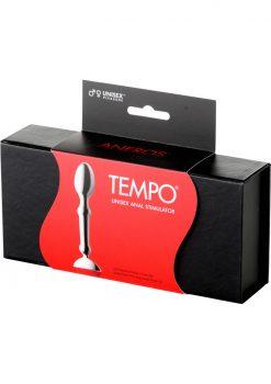 Tempo Unisex Anal Stimulator Metal