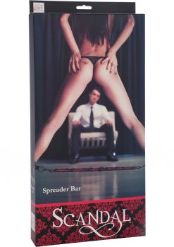 Scandal Spreader Bar Red/Black