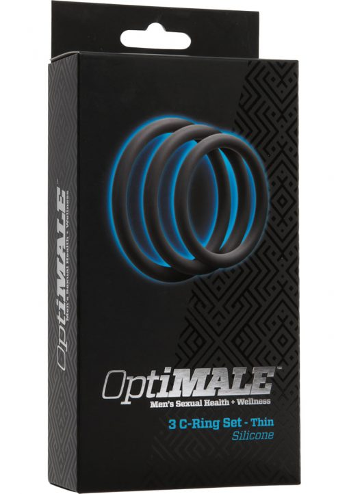 Optimale 3 Silicone C-Ring Set Thin Slate