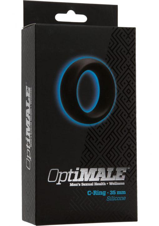 Optimale Silicone C-Ring Black 35 Millimeter