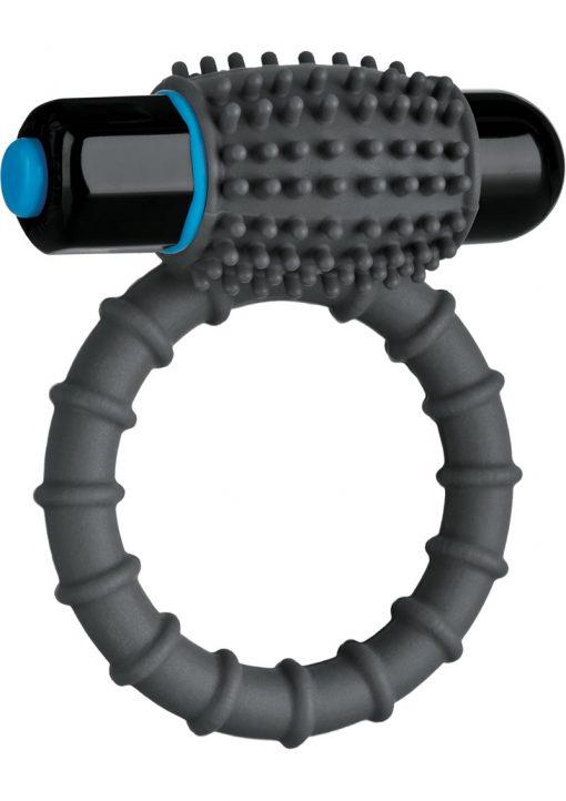 Optimale Silicone Vibrating C-Ring Waterproof Slate