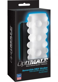 Optimale Reversible UR3 Stroker With Box Rollerball Sleeve White