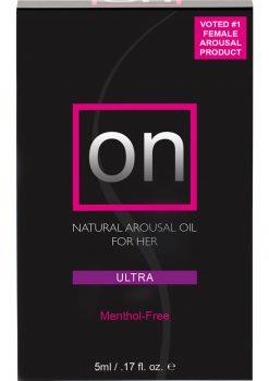Sensuva On Ultra Natural Arousal Oil For Her .17oz
