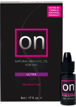 Sensuva On Ultra Natural Arousal Oil For Her .17oz