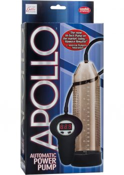 Apollo Automatic Power Pump Wired Remote Control Smoke 10 Inch