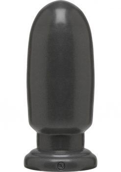 American Bombshell Shellshock Anal Plug Grey 8.5 Inch Long 10.36 Inch Girth