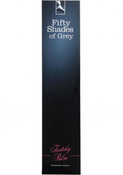 Fifty Shades Of Grey Twitchy Palm Spanking Paddle