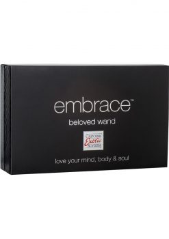 Embrace Beloved Wand Silicone Vibe Waterproof Pink 5.5 Inch