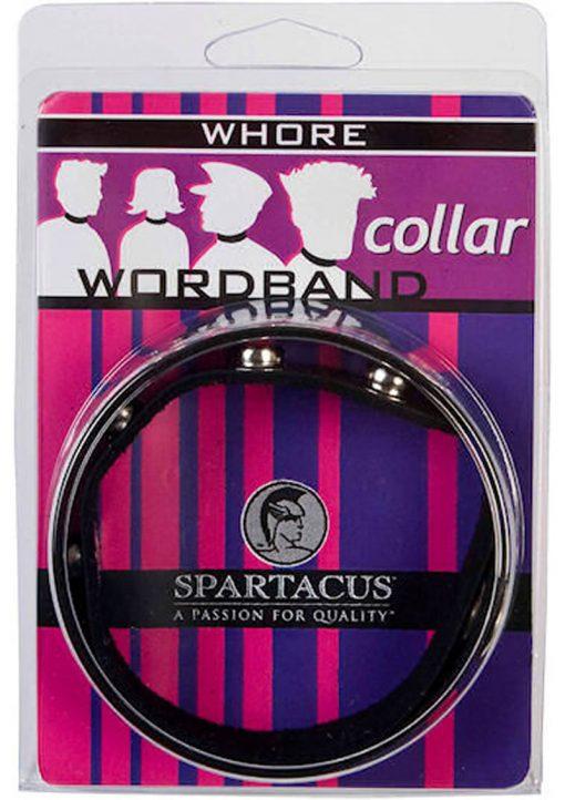 Wordband Collar Whore