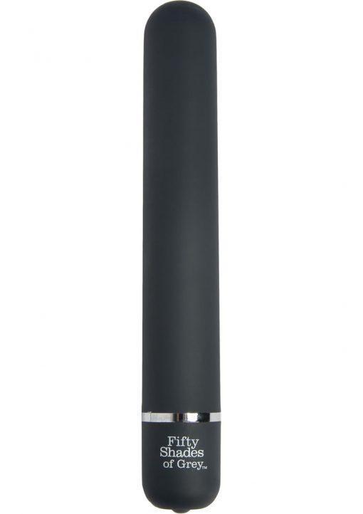 Fifty Shades Of Grey Charlie Tango Classic Vibrator Waterproof Black