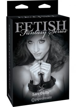 Fetish Fantasy Series Limited Edition Luv Cuffs Adjustable Black