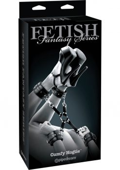 Fetish Fantasy Series Cumfy Hogtie Adjustable Black