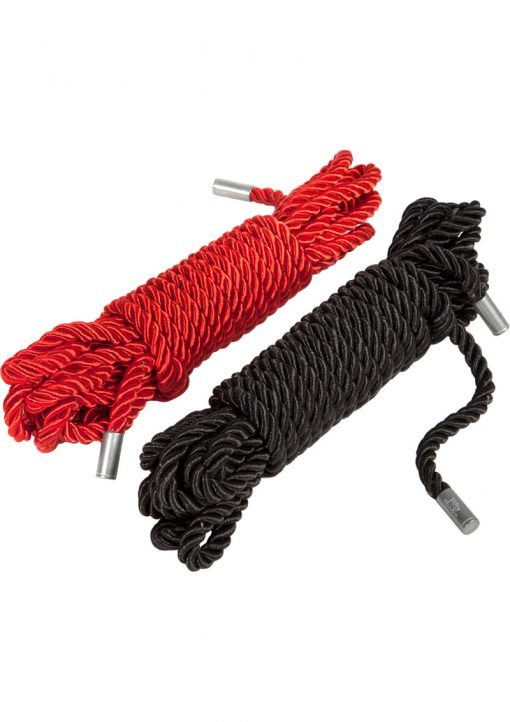 Fifty Shades Of Grey Restrain Me Bondage Rope Twin Pack 16.4 Feet Each Rope