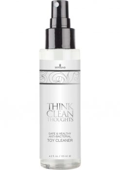 Sensuva Think Clean thoughts Anti Bacterial Toy Cleaner 4.2oz