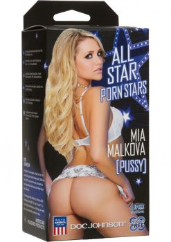 All Star Porn Stars Mia Malkova UR3 Pocket Pussy Masturbator Flesh