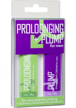 Proloonging and Plump For Men Enhancement Kit 2 Each Per Kit