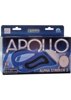 Apollo Alpha Stroker 2 Rechargeable Masturbator Waterproof 10 Inch
