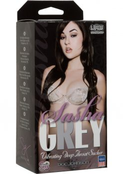 Sasha Grey UR3 Vibrating Deep Throat Sucker Flesh