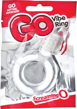 Go Vibe Ring Disposable Cockring Clear