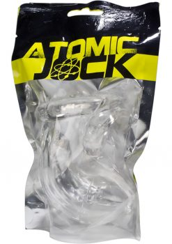 Atomic Jock Cock Lock TPR Chastity With Cock Ring Clear