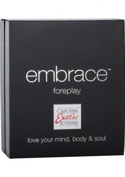 Embrace Foreplay Silicone Rechargeable Massager Waterproof Grey 3.5 Inch