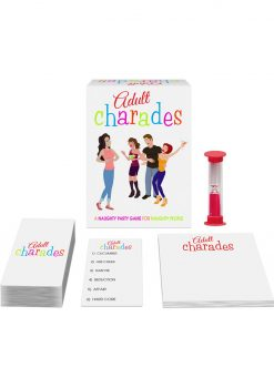 Adult Cherades Card Game
