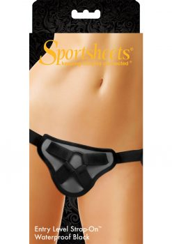 Sportsheets Entry Level Strap On Waterproof Black