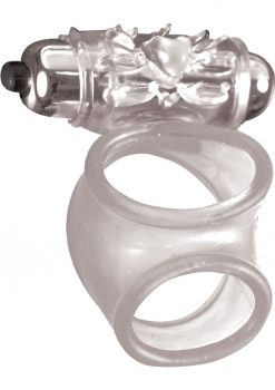 MachO Vibrating Cock Sling Clear 3 Inch