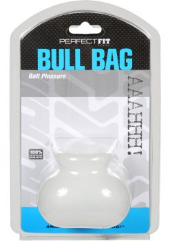 Perfect Fit Bull Bag Ball Pleasure - Clear