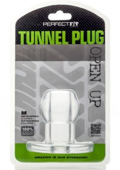 Perfect Fit Tunnel Plug MD- Clear